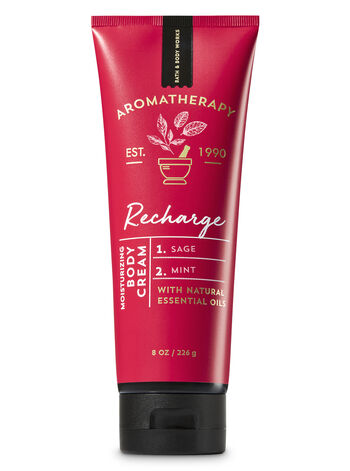 Aromatherapy Recharge - Sage & Mint Body Cream - Bath And Body Works
