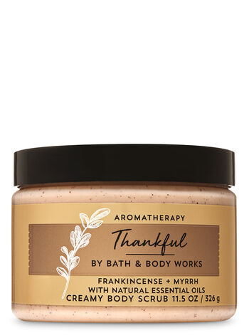 Aromatherapy Frankincense Myrrh Creamy Body Scrub - Bath And Body Works