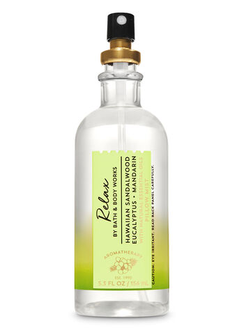 Aromatherapy Hawaiian Sandalwood Eucalyptus Pillow Mist - Bath And Body Works
