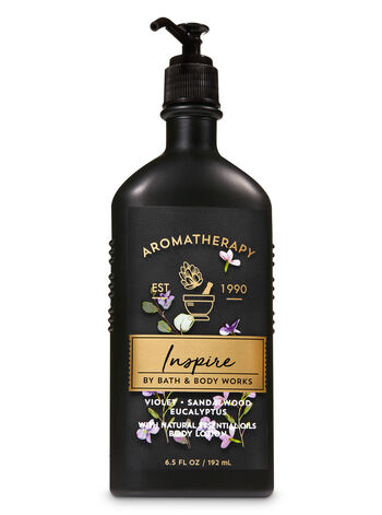 Aromatherapy Violet Sandalwood Eucalyptus Body Lotion - Bath And Body Works