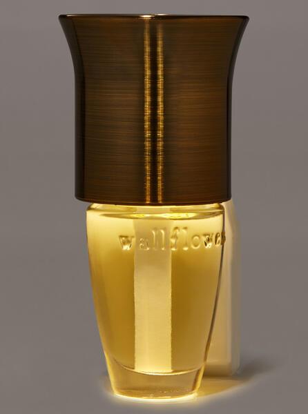 Brass Metallic Flare Nightlight Wallflowers Fragrance Plug