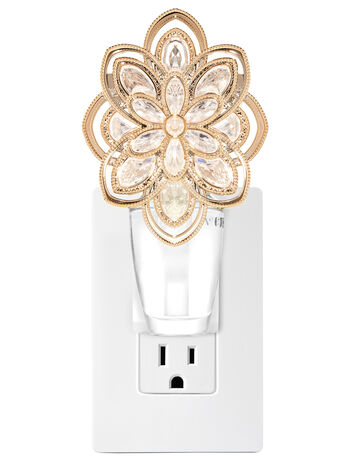 Sparkly Flower Nightlight Wallflowers Fragrance Plug