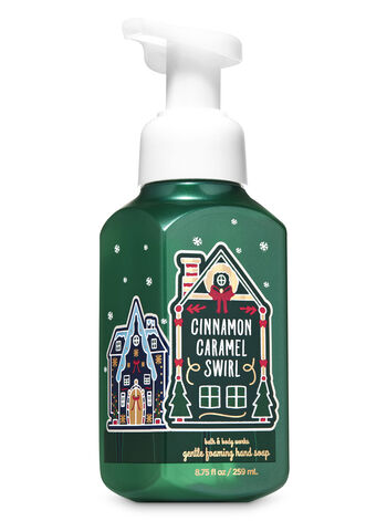 Cinnamon Caramel Swirl Gentle Foaming Hand Soap - Bath And Body Works