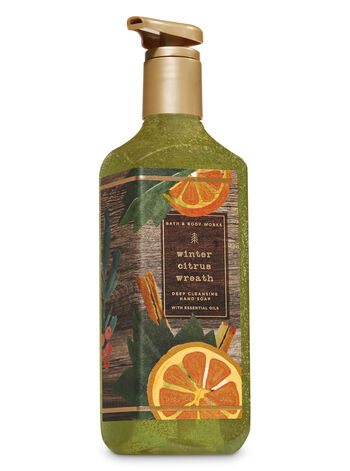 Winter Citrus Wreath Deep Cleansing Hand Soap - Bath And Body Works