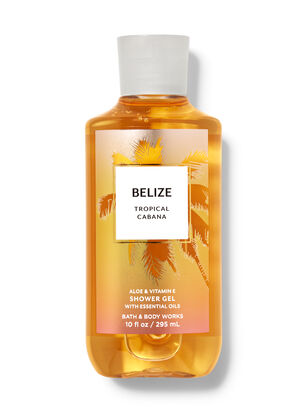 Belize Tropical Cabana Shower Gel