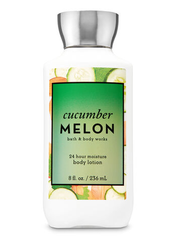 Signature Collection Cucumber Melon Super Smooth Body Lotion - Bath And Body Works