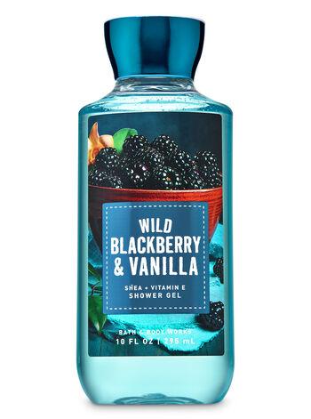 Wild Blackberry & Vanilla Shower Gel - Bath And Body Works