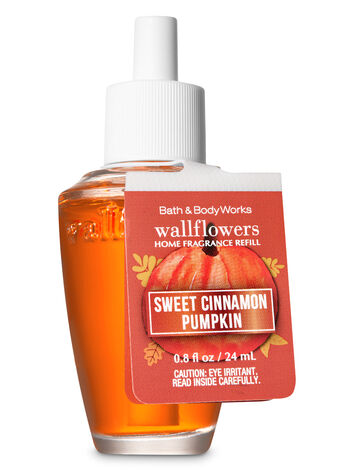 Sweet Cinnamon Pumpkin Wallflowers Fragrance Refill - Bath And Body Works