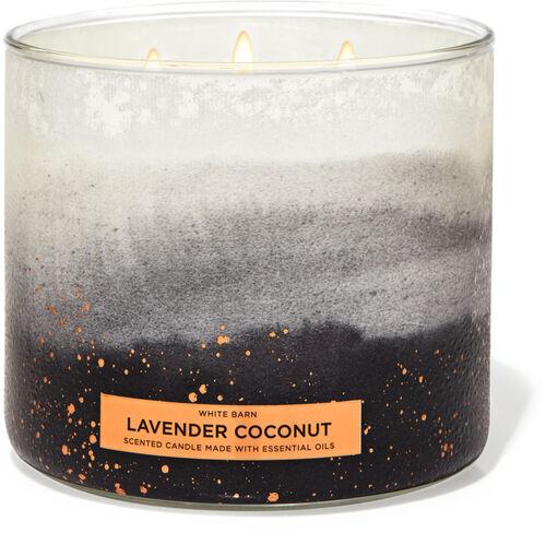 Apple Bourbon, Pineapple coconut, /& Lavender Bergamot 3 Candle Set