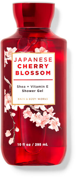 Japanese Cherry Blossom Shower Gel