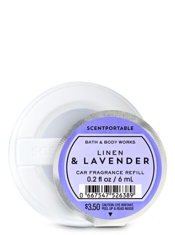 Linen & Lavender Car Fragrance Refill - Bath And Body Works