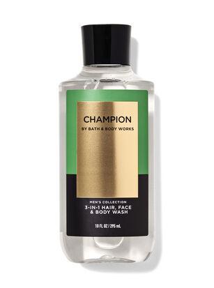 Champion 3-in-1 Hair, Face & Body Wash