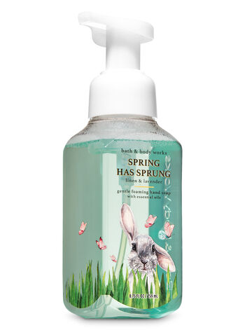 Linen & Lavender Gentle Foaming Hand Soap - Bath And Body Works