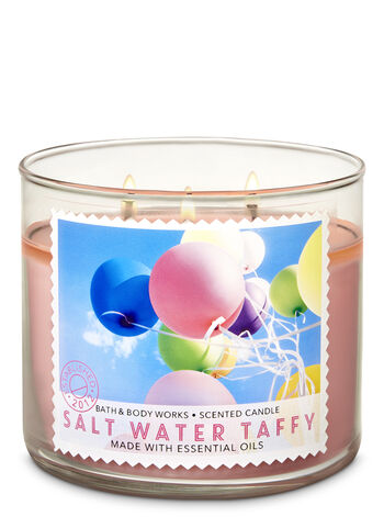 Salt Water Taffy 3-Wick Candle - Bath And Body Works