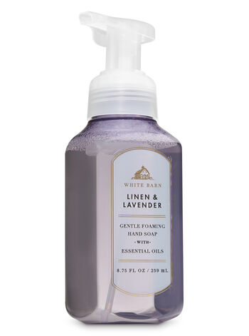 White Barn Linen & Lavender Gentle Foaming Hand Soap - Bath And Body Works