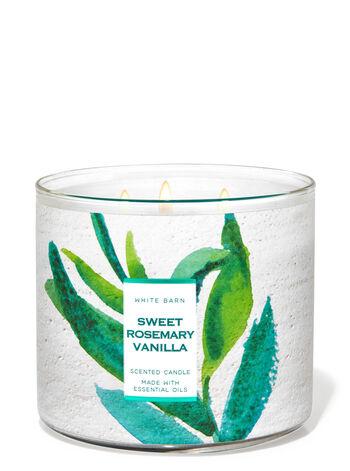 Sweet Rosemary Vanilla 3-Wick Candle