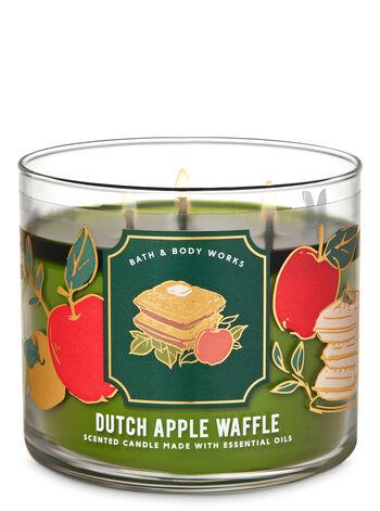 Dutch Apple Waffle 3-Wick Candle