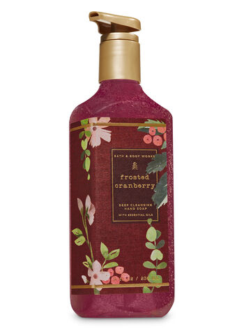 Frosted Cranberry Deep Cleansing Hand Soap - Bath And Body Works