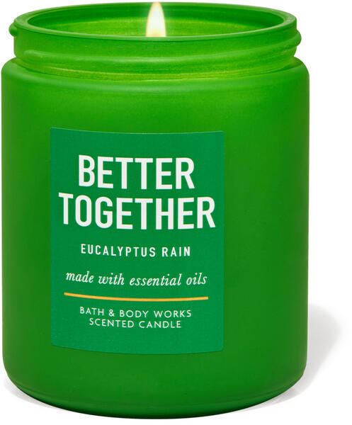 Eucalyptus Rain Single Wick Candle