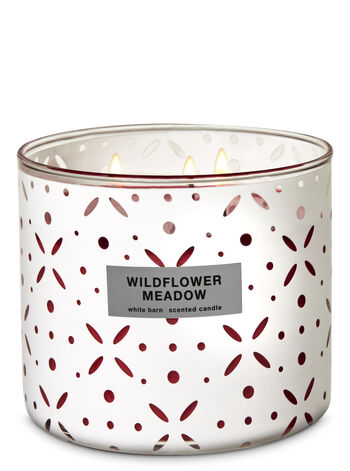 Wildflower Meadow 3-Wick Candle - Bath And Body Works