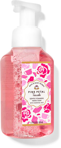 Pink Petal Tea Cake Gentle Foaming Hand Soap