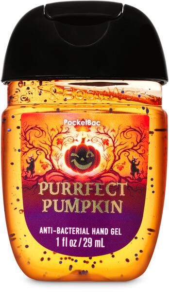 Purrfect Pumpkin PocketBac Hand Sanitizer