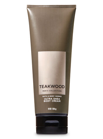 Signature Collection Teakwood Ultra Shea Body Cream - Bath And Body Works