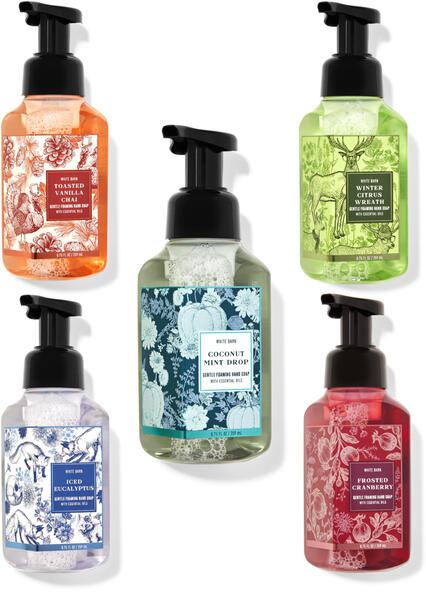 Cool & Cozy Gentle Foaming Hand Soap, 5-Pack