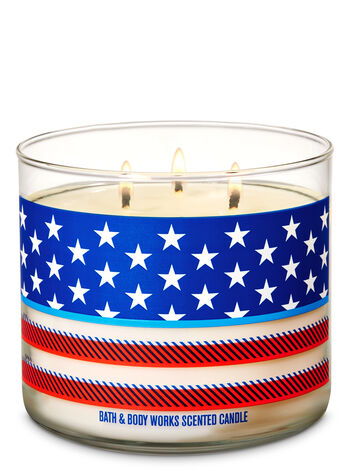 Firecracker Pop 3-Wick Candle - Bath And Body Works