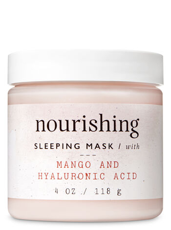 Nourishing with Mango & Hyaluronic Acid Sleeping Face Mask - Bath And Body Works