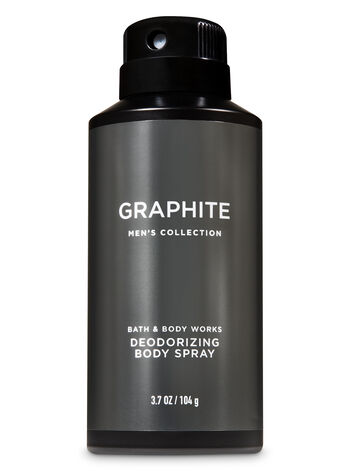 Signature Collection Graphite Deodorizing Body Spray - Bath And Body Works