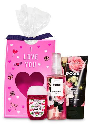 Rose Mini Gift Set - Bath And Body Works
