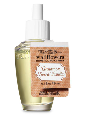 Cinnamon Spiced Vanilla Wallflowers Fragrance Refill - Bath And Body Works