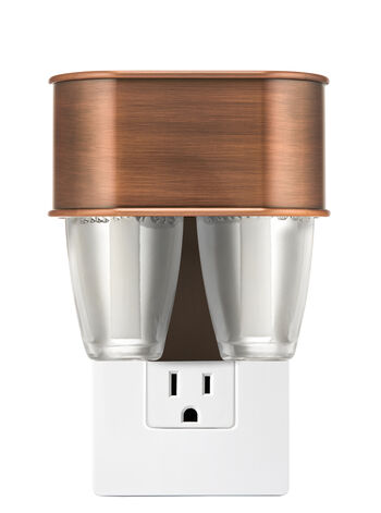 Copper Nightlight Scent Switching™ Wallflowers Duo Plug