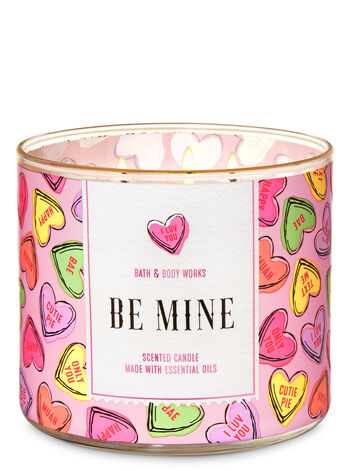 Candy Hearts 3-Wick Candle - Bath And Body Works
