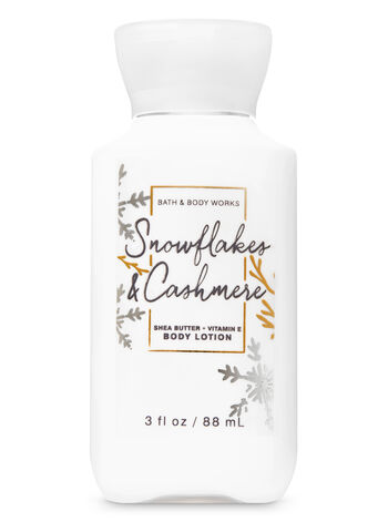 Snowflakes & Cashmere Travel Size Body Lotion - Bath And Body Works