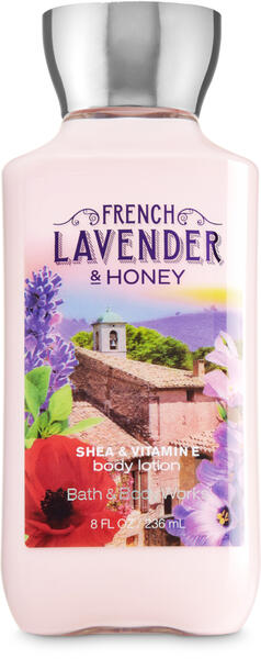 French Lavender & Honey Body Lotion