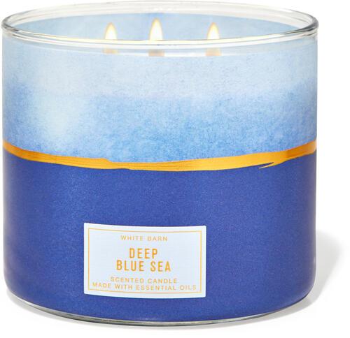 Deep Blue Sea 3-Wick Candle