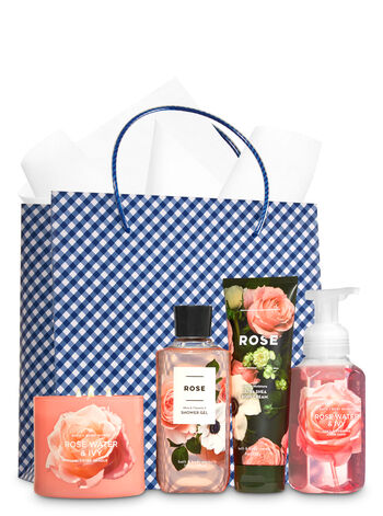 Rose Bouquet Ultimate Fragrance Fan Gift Kit - Bath And Body Works