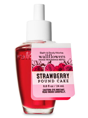 Strawberry Pound Cake Wallflowers Fragrance Refill - Bath And Body Works