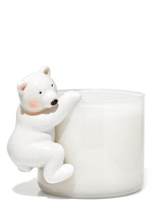 Polar Bear 3-Wick Candle Magnet