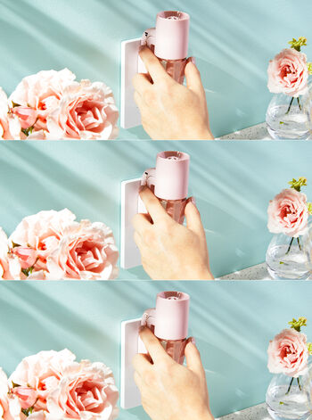 Pink Adjustable Wallflowers Scent Control™ Plug
