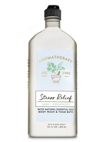 Aromatherapy Sage Cedarwood Body Wash & Foam Bath - Bath And Body Works