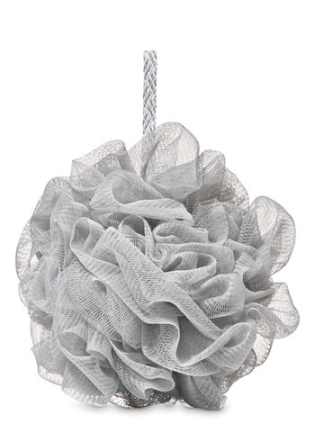 Light Gray Loofah - Bath And Body Works
