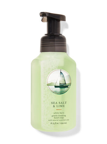 Sea Salt & Lime Gentle Foaming Hand Soap