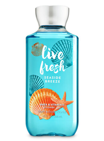 Signature Collection Live Fresh - Seaside Breeze Shower Gel - Bath And Body Works