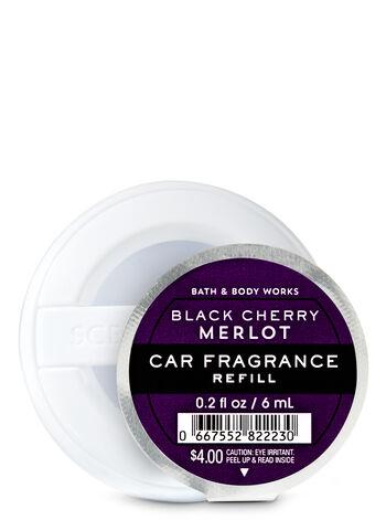 Black Cherry Merlot Car Fragrance Refill - Bath And Body Works