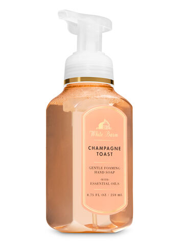 White Barn Champagne Toast Gentle Foaming Hand Soap - Bath And Body Works
