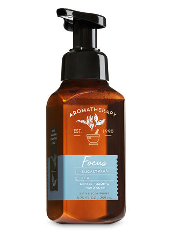 Aromatherapy Focus - Eucalyptus & Tea Gentle Foaming Hand Soap - Bath And Body Works