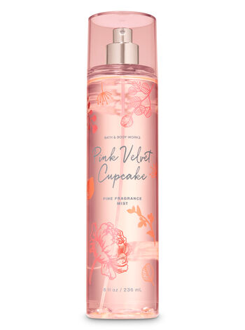 Pink Velvet Cupcake Fine Fragrance Mist - Bath And Body Works